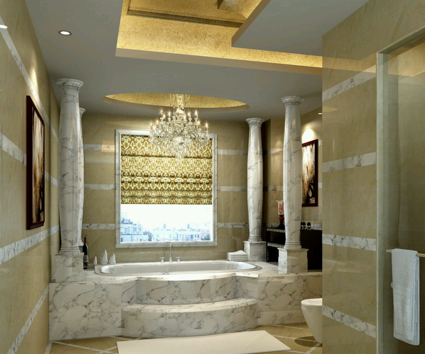 Luxurious Bathroom Design photo - 3