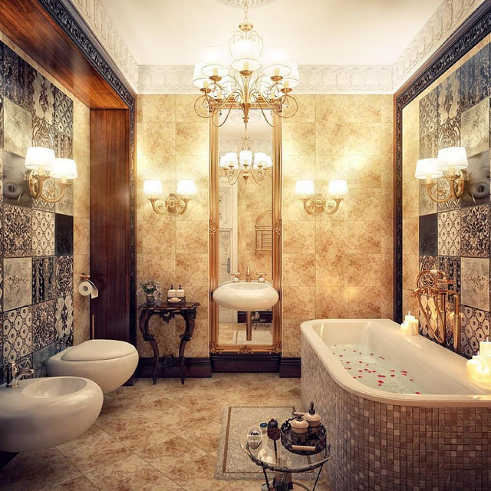 Luxurious Bathroom Design photo - 5