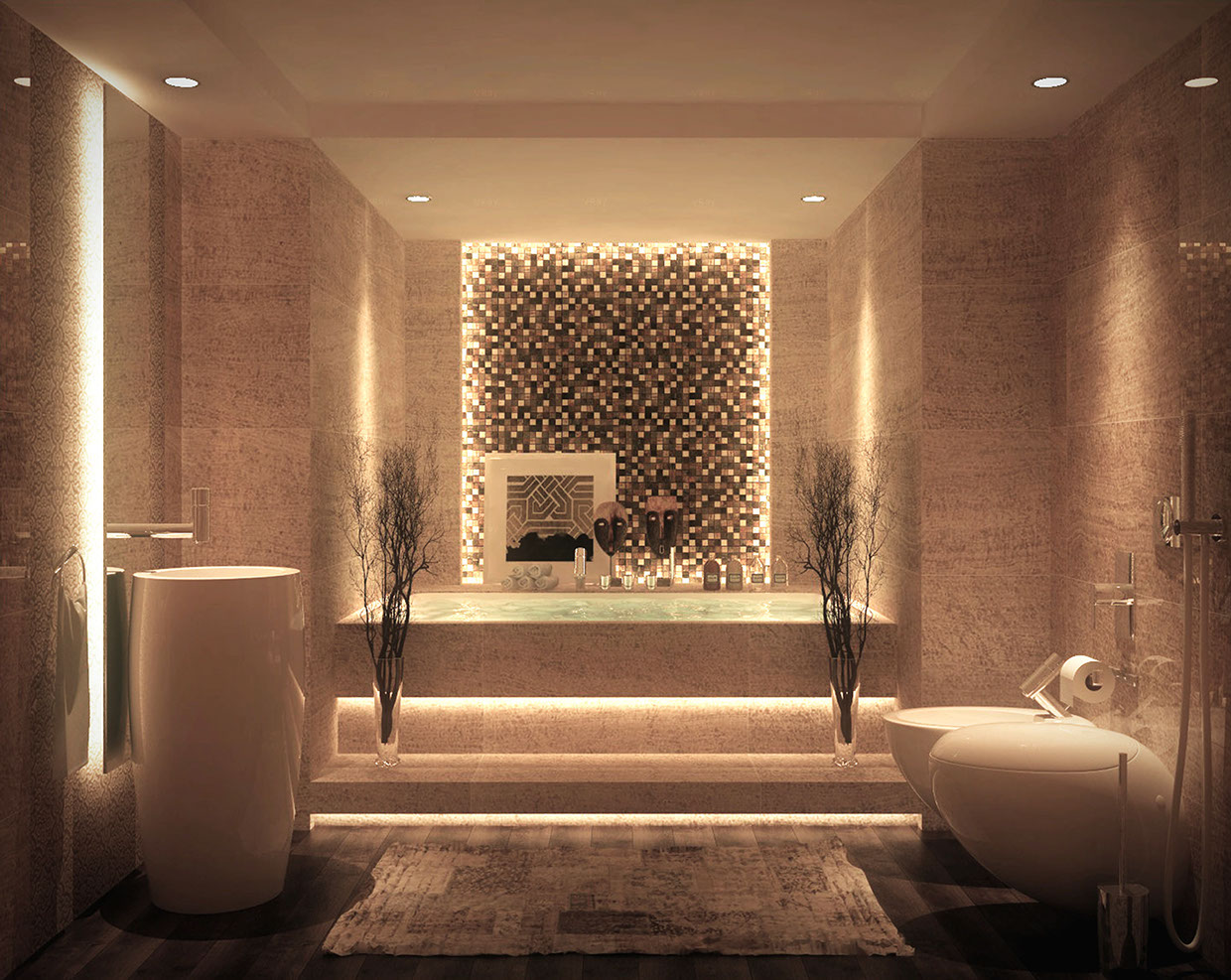 Luxurious Bathroom Design photo - 9