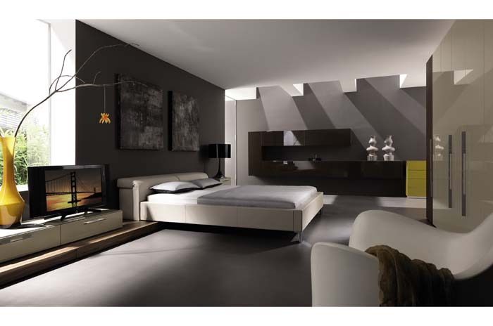 Modern Bedroom Design – Huelsta Lilac photo - 4
