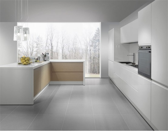 Modern Kitchen In Wooden Finish photo - 6