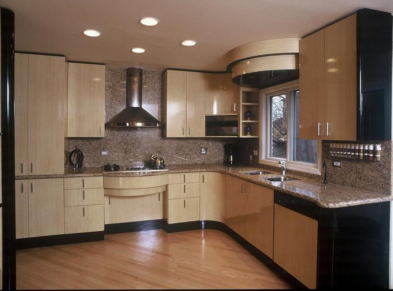 Modern Kitchen in the Woods photo - 1