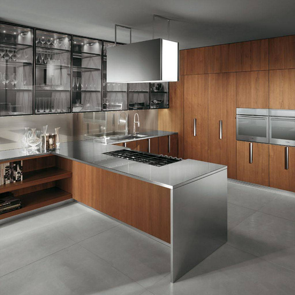 Modern Kitchen in the Woods photo - 10
