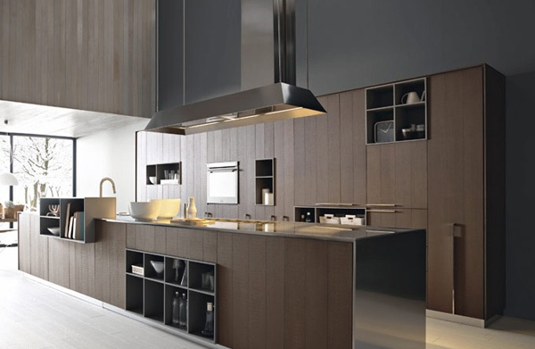 Modern Kitchen in the Woods photo - 2