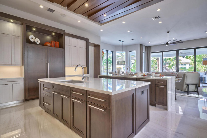 Modern Kitchen in the Woods photo - 5