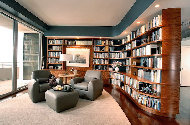 Modern Private Library photo - 3
