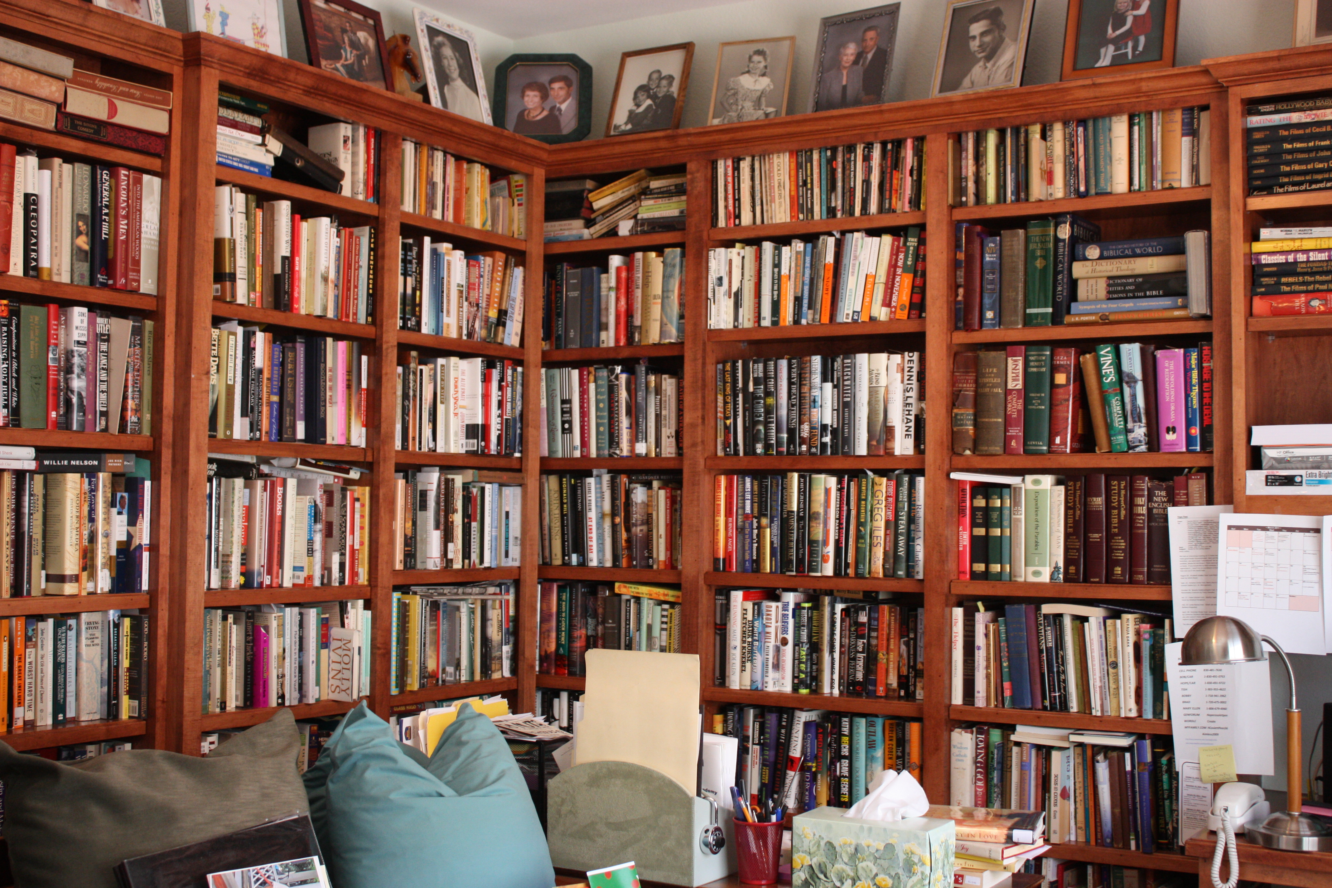 Private Library Bookcase photo - 2