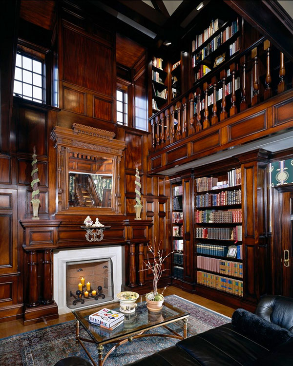 Private Library Bookcase photo - 6