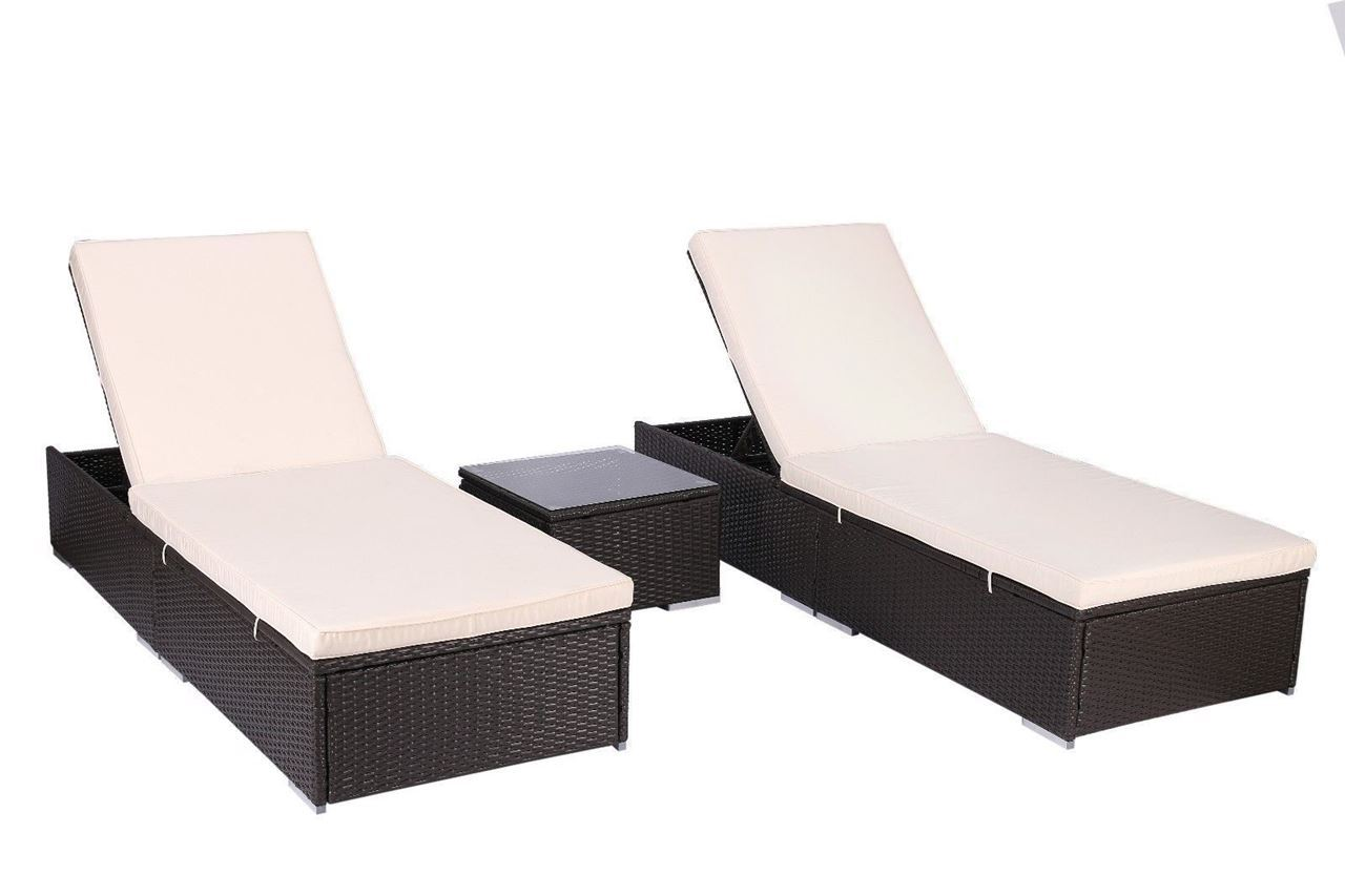 Rattan Outdoor Lounge Chair photo - 4
