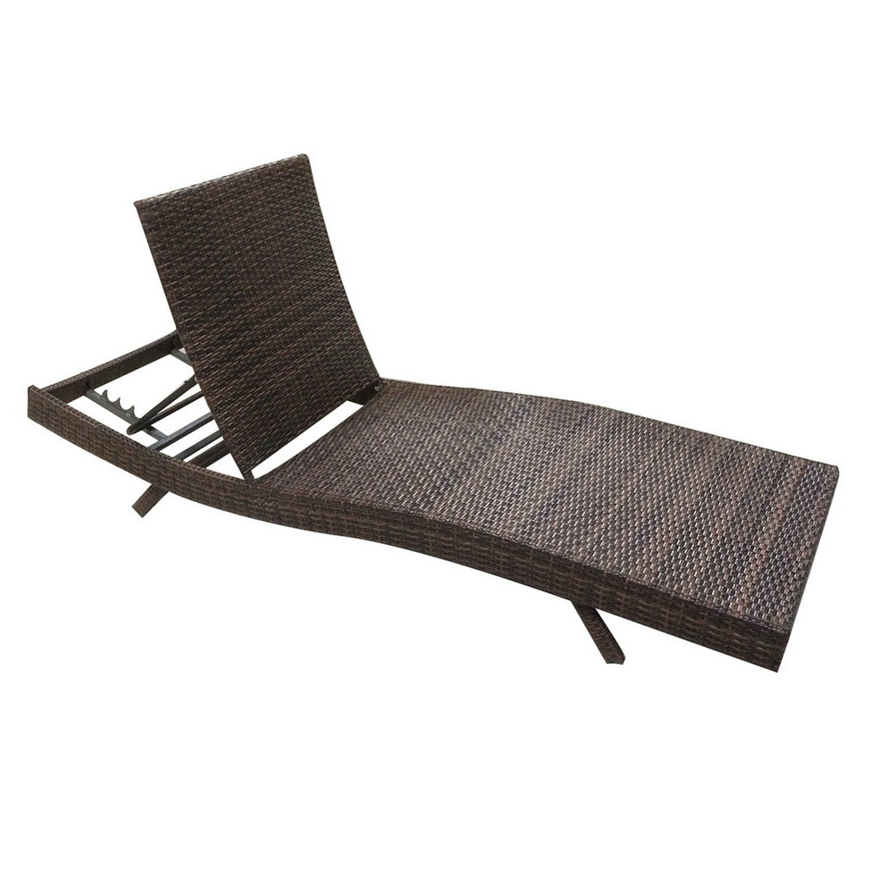 Rattan Outdoor Lounge Chair photo - 7