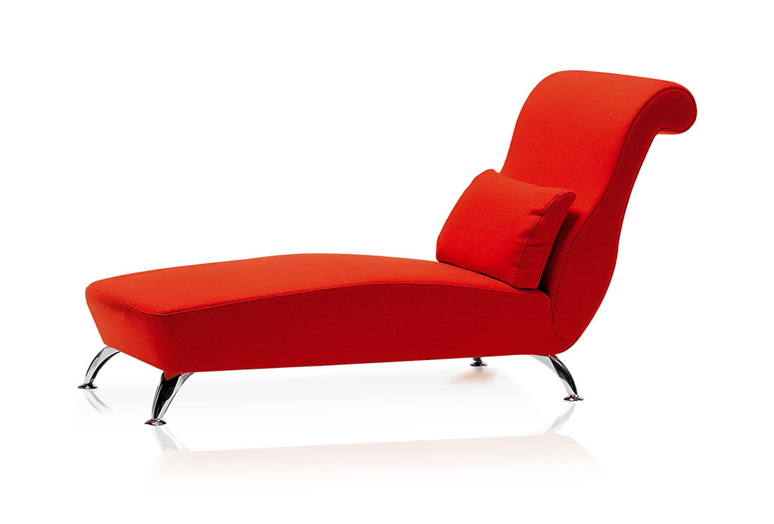 Red Chaise Lounge photo - 10