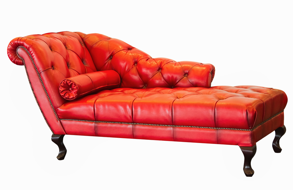 Red Chaise Lounge photo - 5