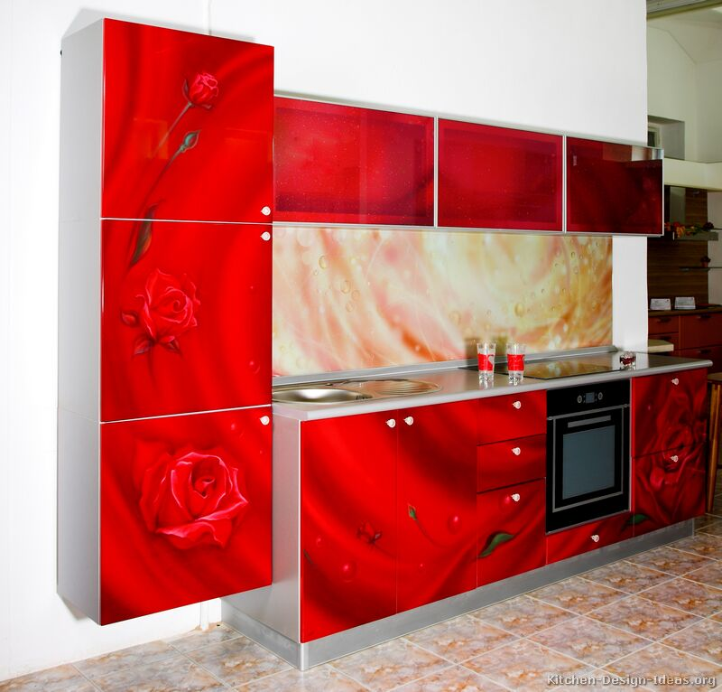 Red Kitchen photo - 3