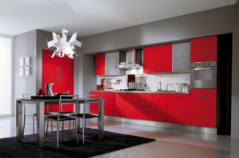 Red Kitchen photo - 8