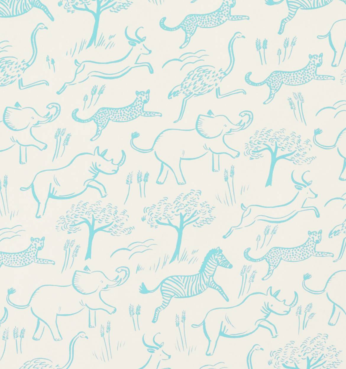 Safari Pattern Wallpaper photo - 3