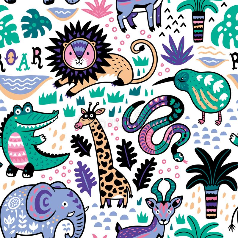 Safari Pattern Wallpaper photo - 4