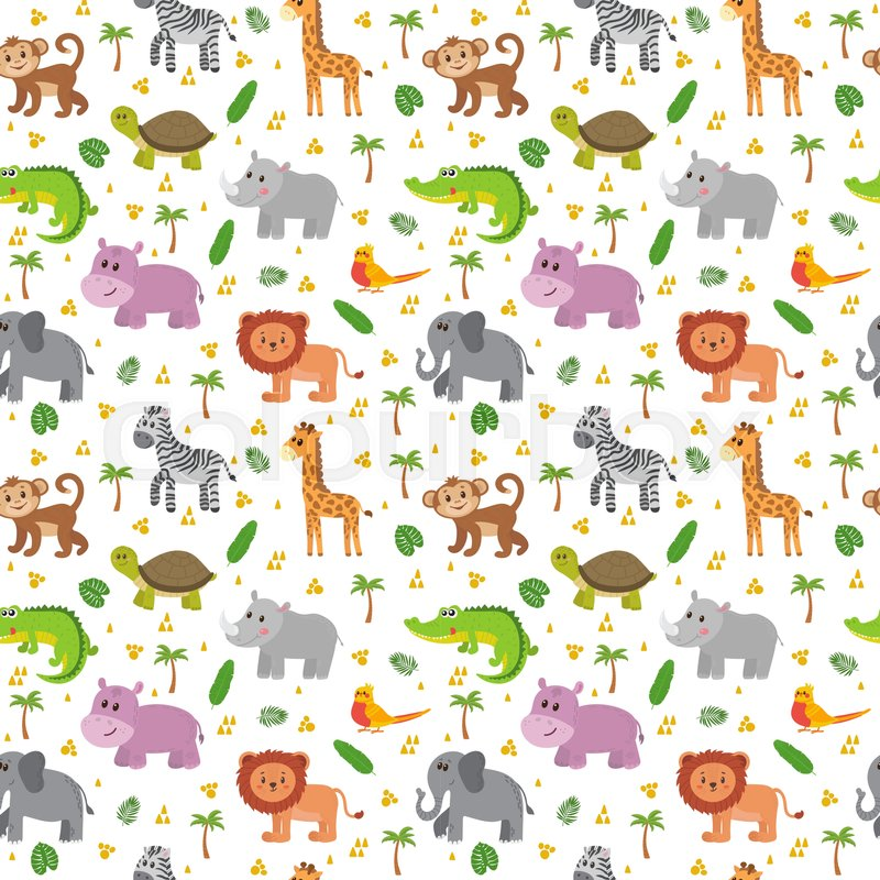 Safari Pattern Wallpaper photo - 9