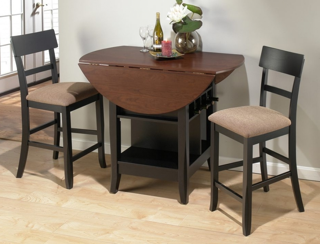 Small Circle Dining Room Table photo - 6