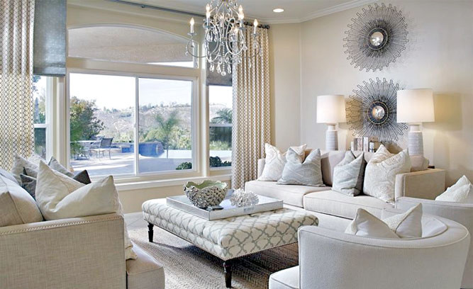 Understated Glam Living Room Idea photo - 1