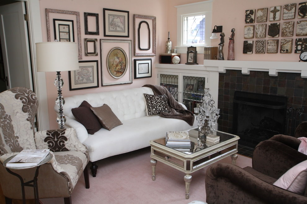Understated Glam Living Room Idea photo - 2
