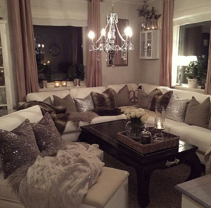 Understated Glam Living Room Idea photo - 7