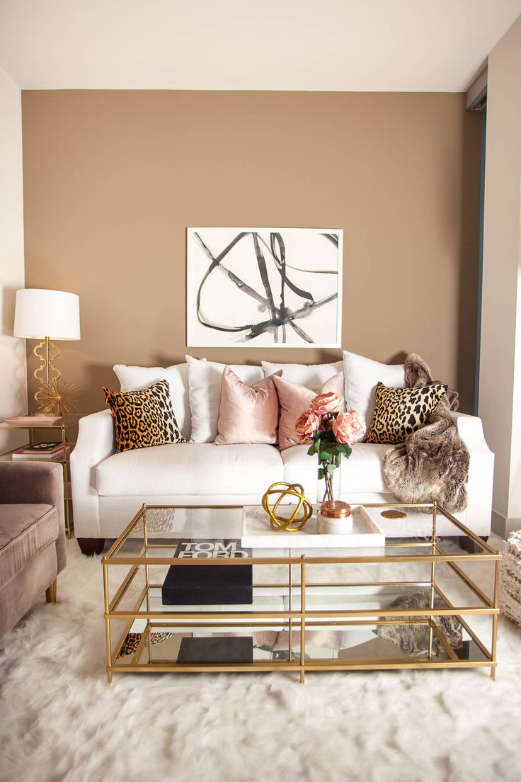 Understated Glam Living Room Idea photo - 9