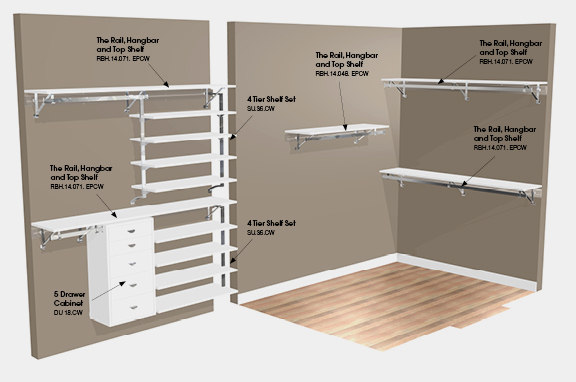 Walk In Closet Designs For Every Personality Type photo - 4