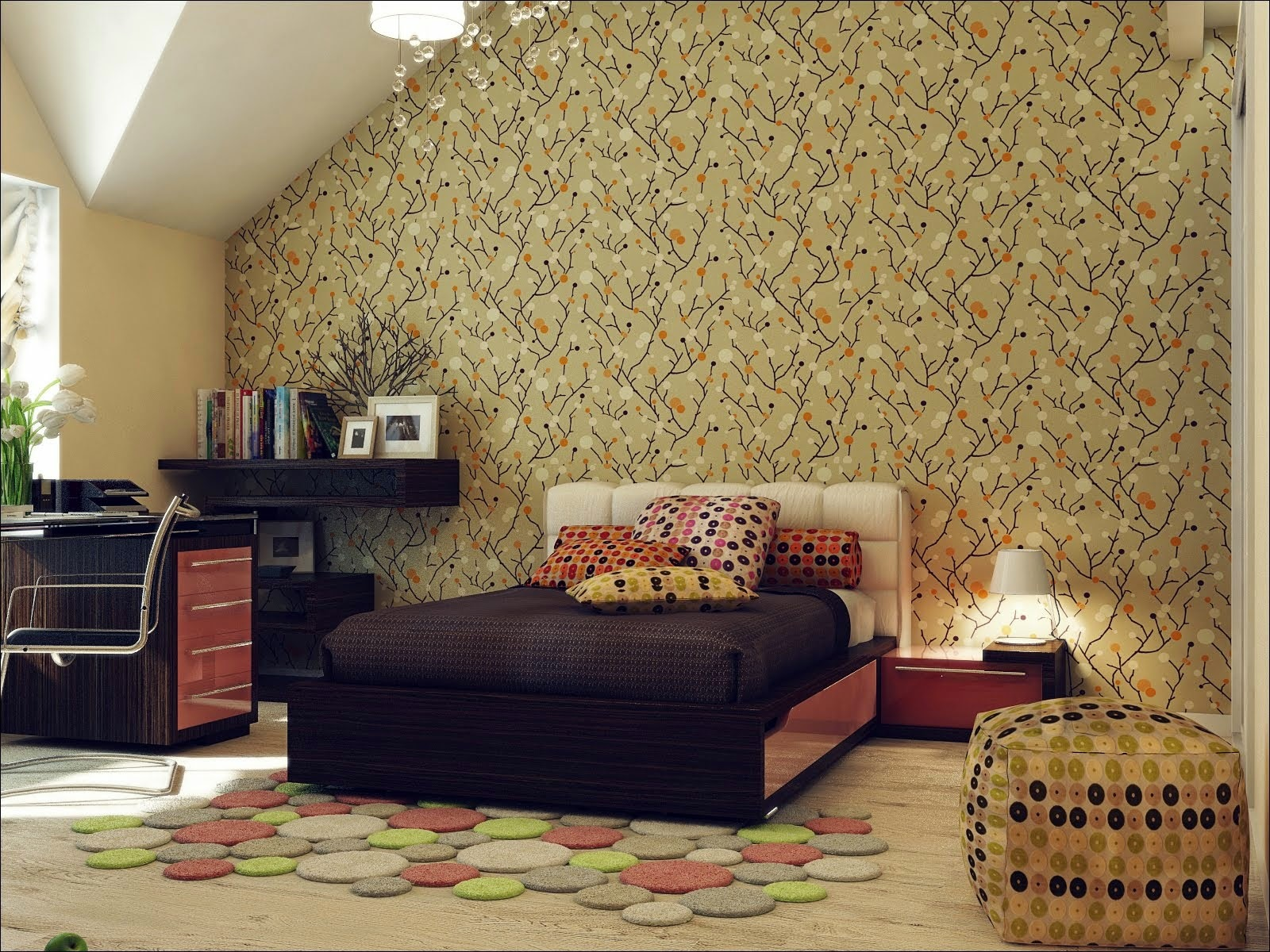 Wallpaper Room Decor photo - 7