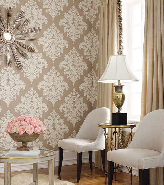 Wallpaper Room Design photo - 2