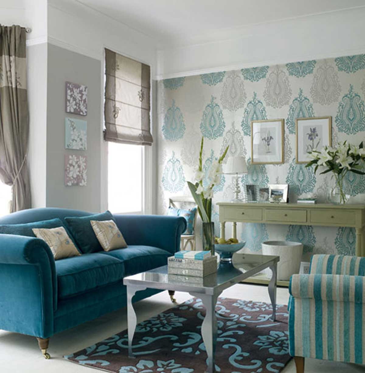 Wallpaper Room Design Ideas photo - 6