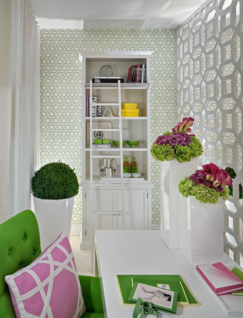 Wallpaper Room Divider photo - 2