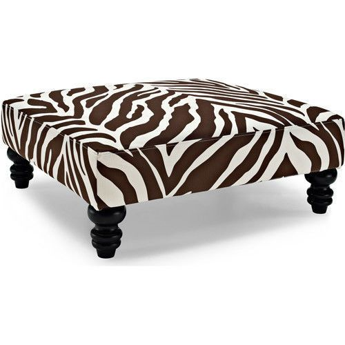 Zebra Chairs and Ottoman Center Table photo - 9
