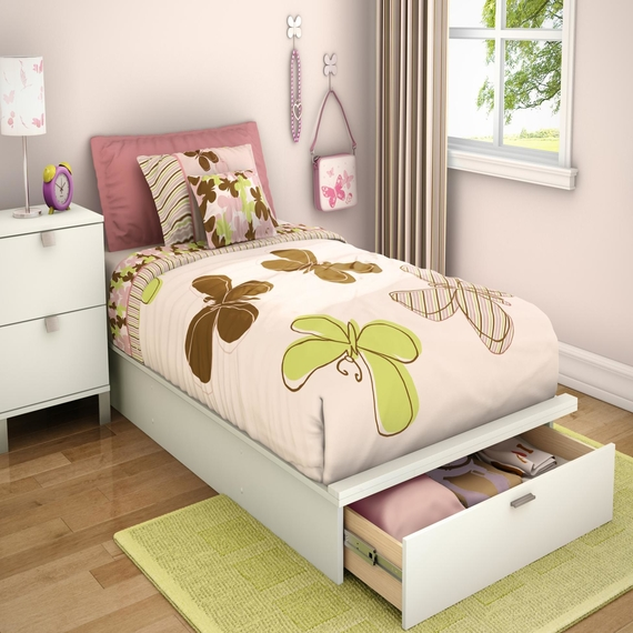 affordable modern twin beds for kids photo - 7