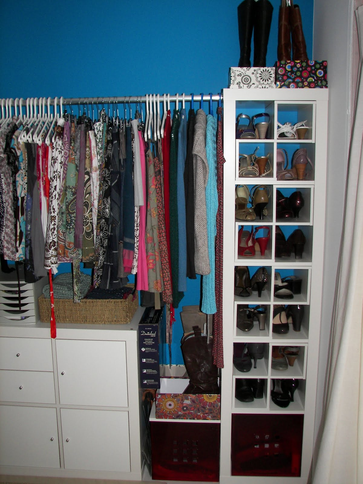 affordable walk in closet design photo - 3