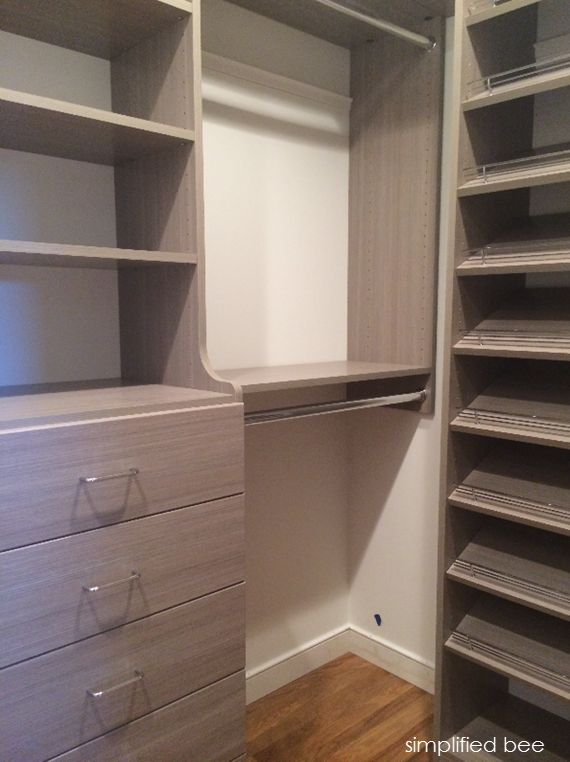 affordable walk in closet design photo - 9
