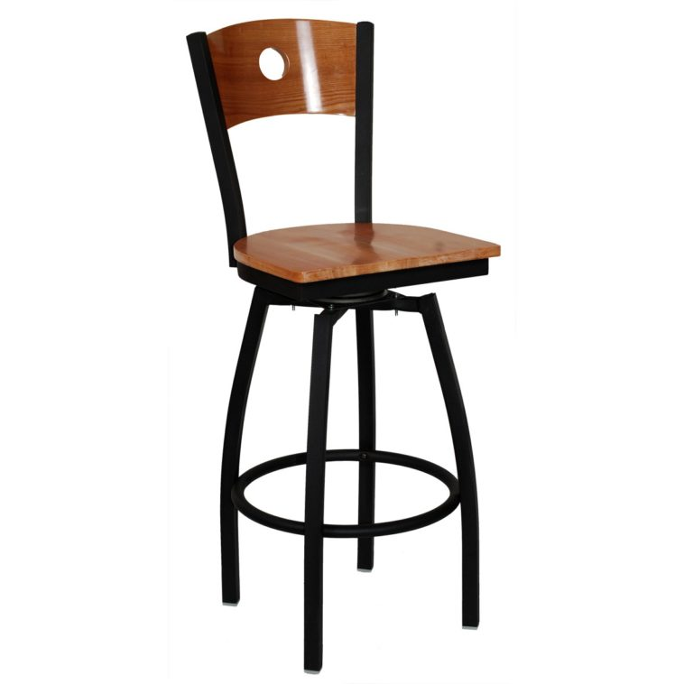 aluminum bar stools without backs photo - 10