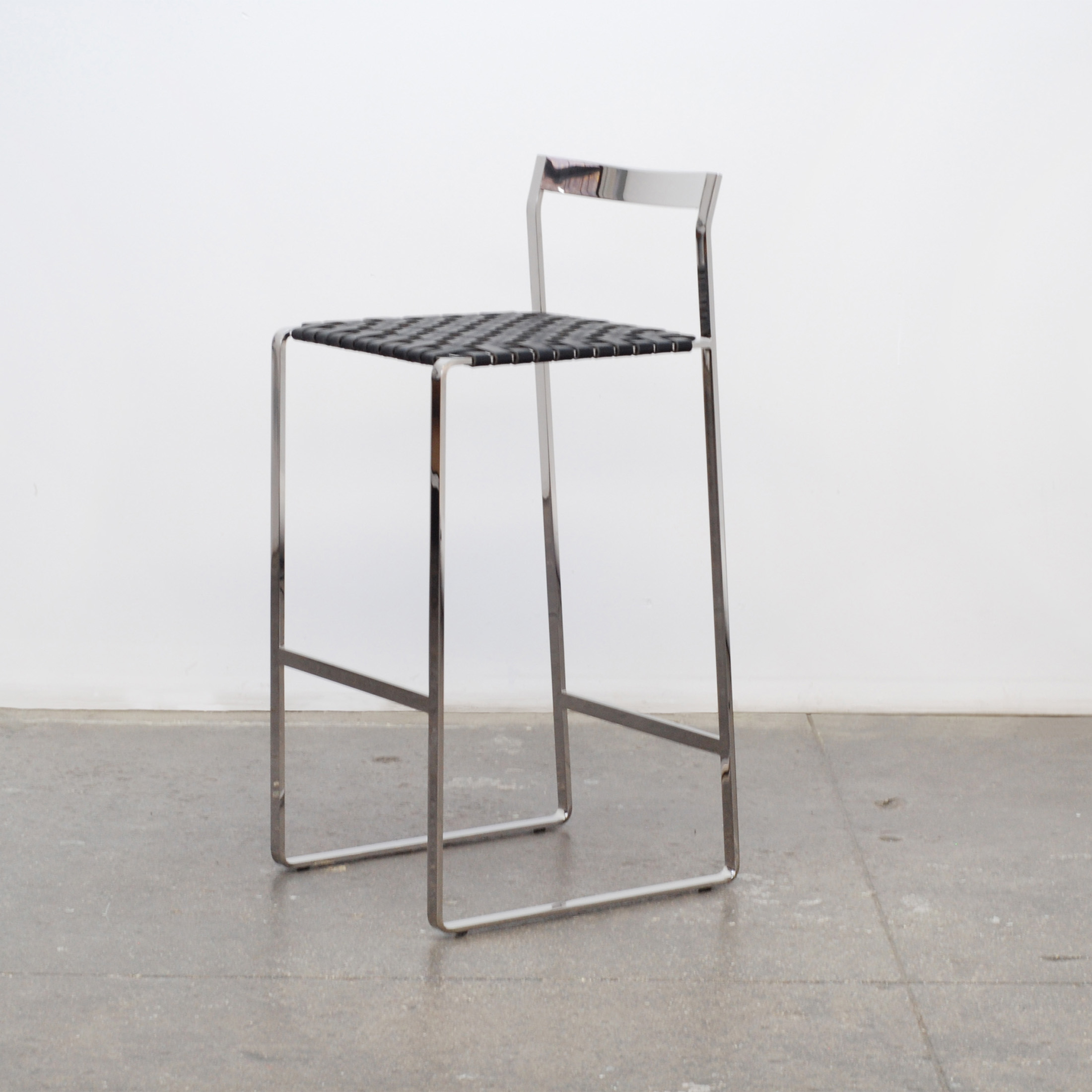 aluminum bar stools without backs photo - 4