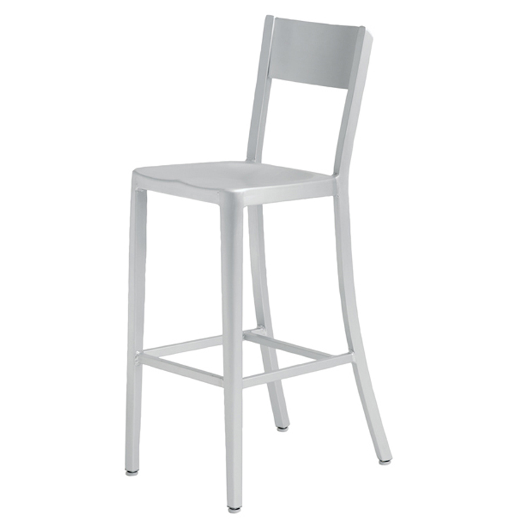 aluminum bar stools without backs photo - 6