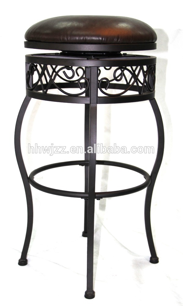 aluminum bar stools without backs photo - 7