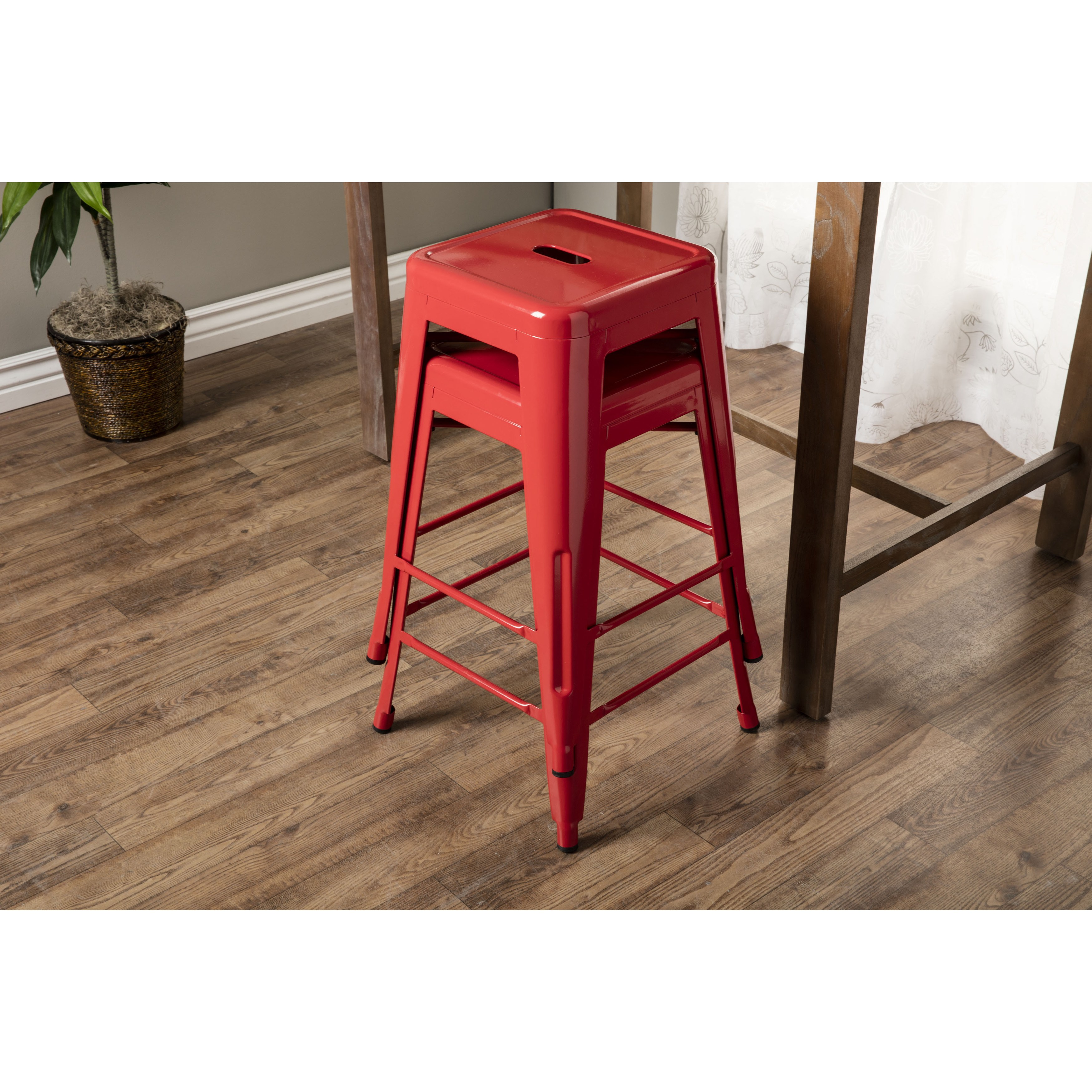 aluminum bar stools without backs photo - 9
