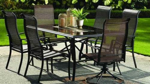 aluminum patio furniture home depot photo - 1