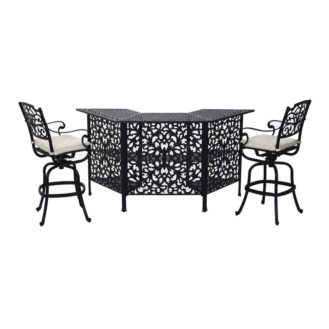 aluminum patio furniture home depot photo - 10