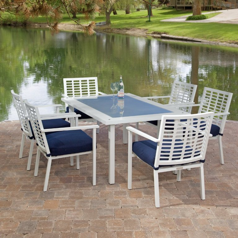 aluminum patio furniture home depot photo - 2