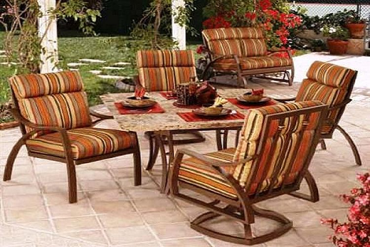 aluminum patio furniture home depot photo - 5