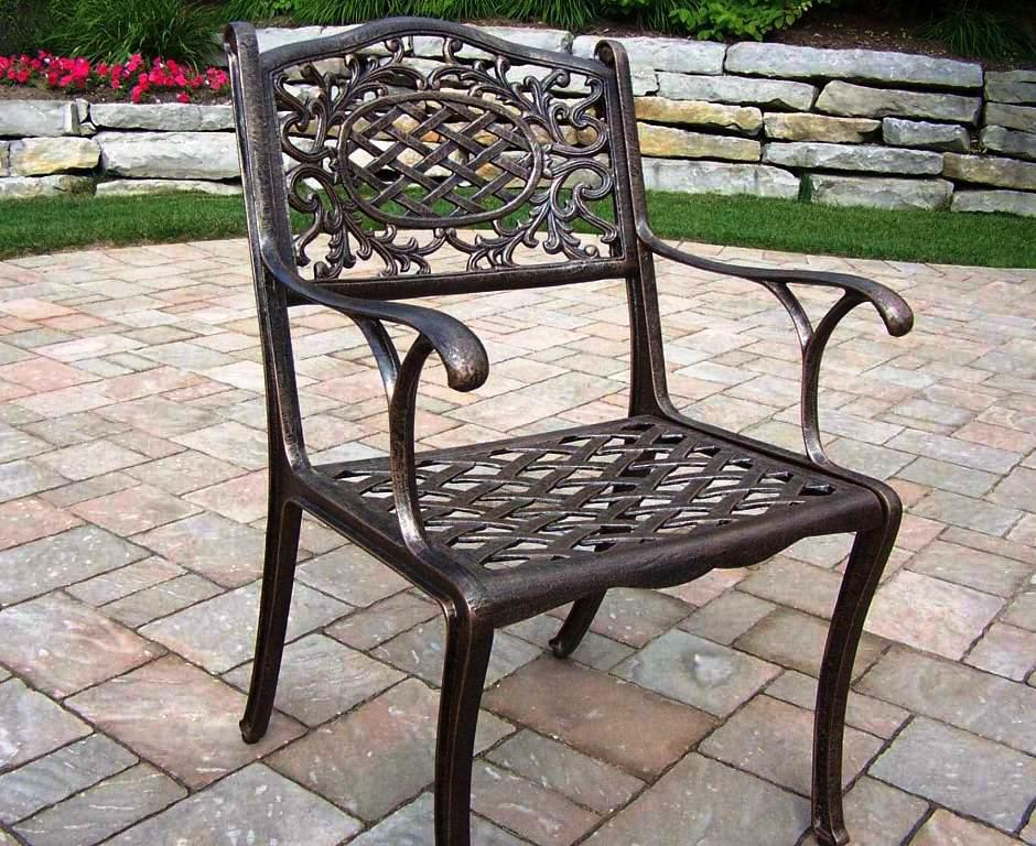 aluminum patio furniture home depot photo - 6