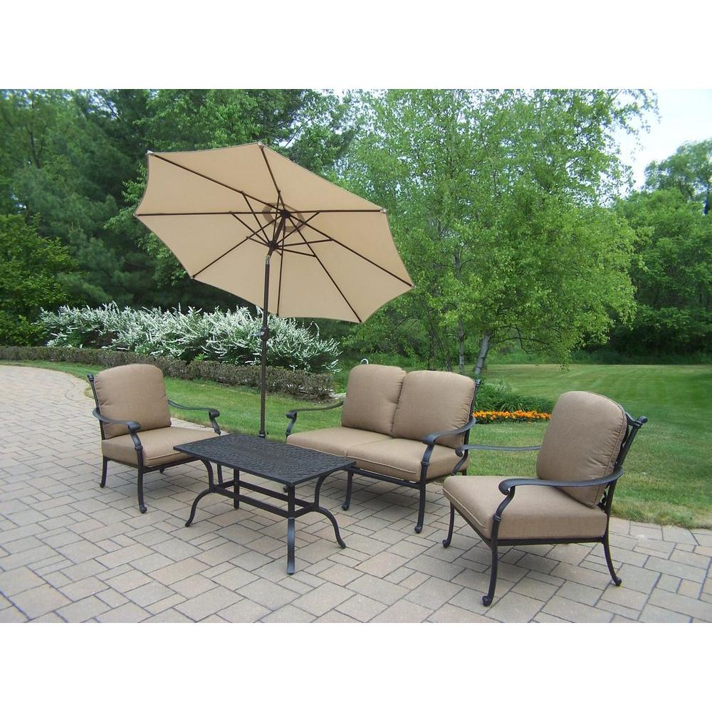 aluminum patio furniture home depot photo - 9