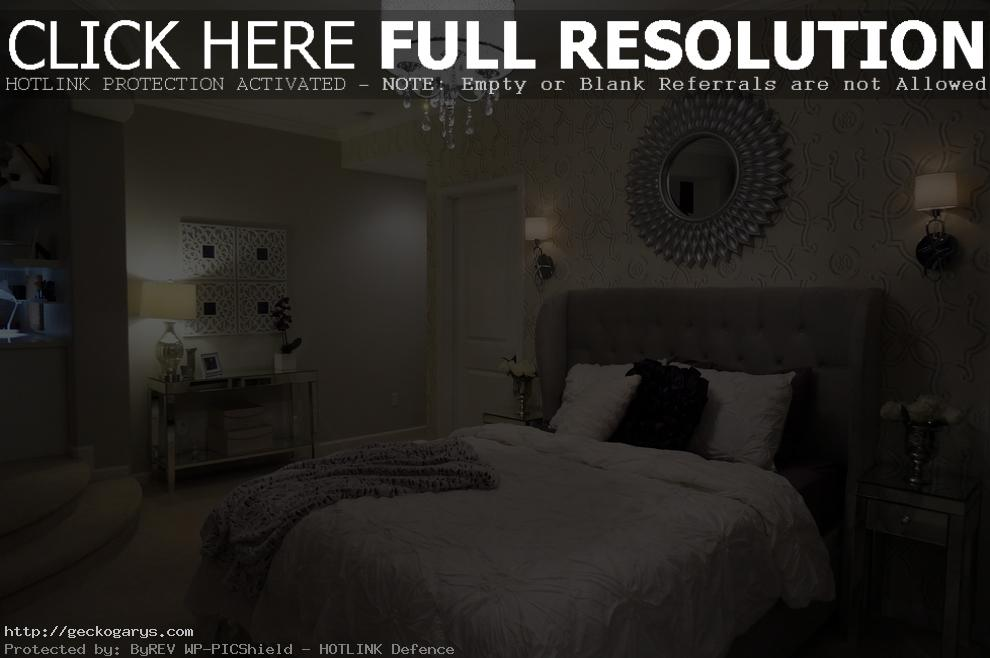 amelie mirrored bedroom furniture photo - 3