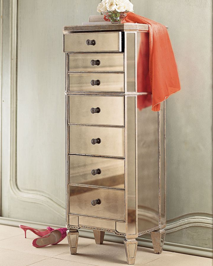 amelie mirrored bedroom furniture photo - 6