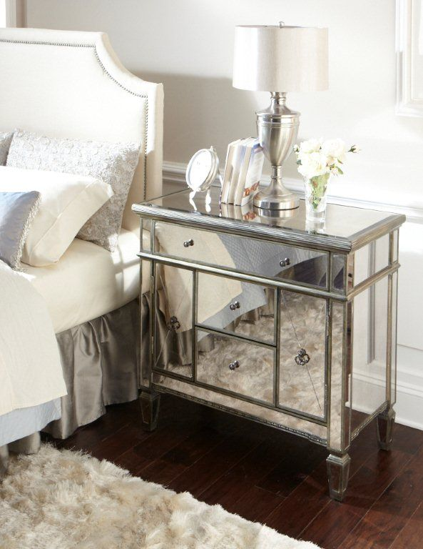 amelie mirrored bedroom furniture photo - 9