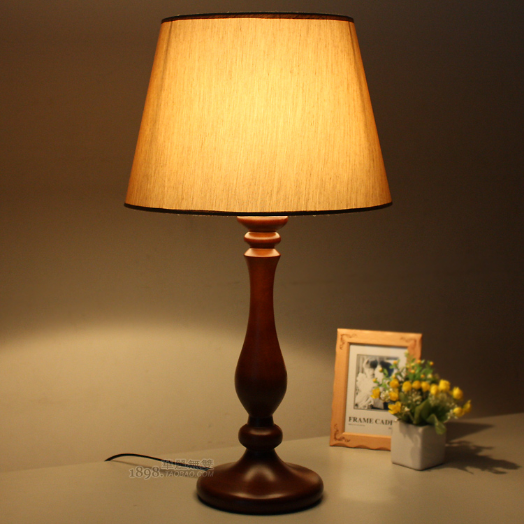 antique bedroom lamp photo - 8
